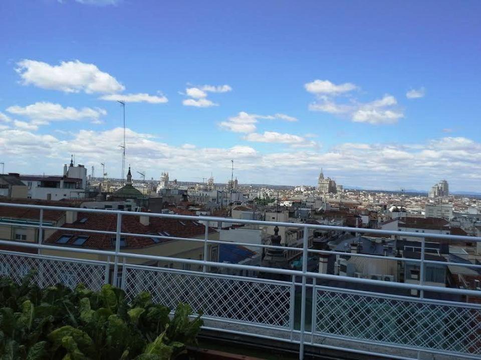 Huerto hotel Wellington vistas de Madrid Te Veo en Madrid