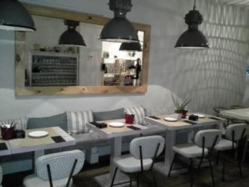 Restaurante Le Coco comedor exterior Te Veo en Madrid
