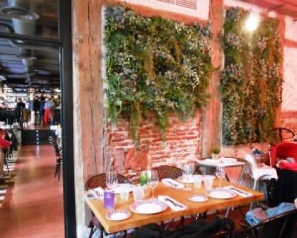Restaurante la entretenida Grupo Oter Comedor exterior Te Veo en Madrid