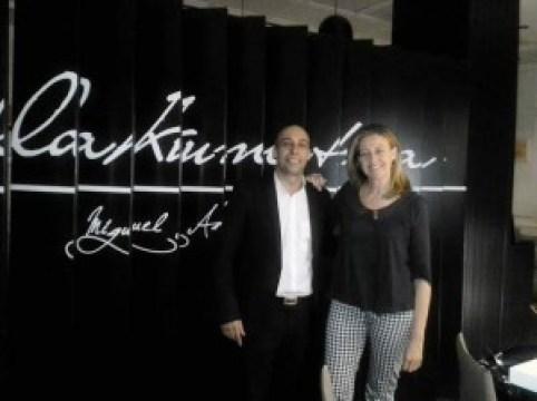 Restaurante Lakuntza con Cristian Fernandez Te Veo en Madrdi