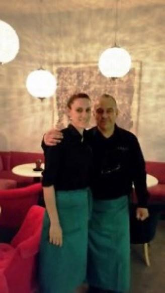 Restaurante Namit Chamberí Jorge y Carolina Te Veo en Madrid rincon comedor