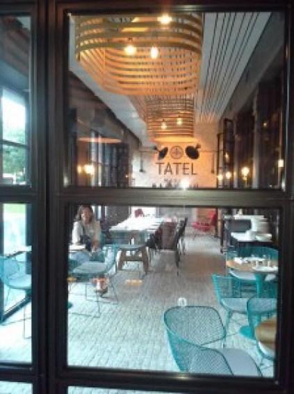 Restaurante tatel Te Veo en Madrid terraza