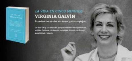 Virginia Galvin y su libro La Vida en 5 minutos