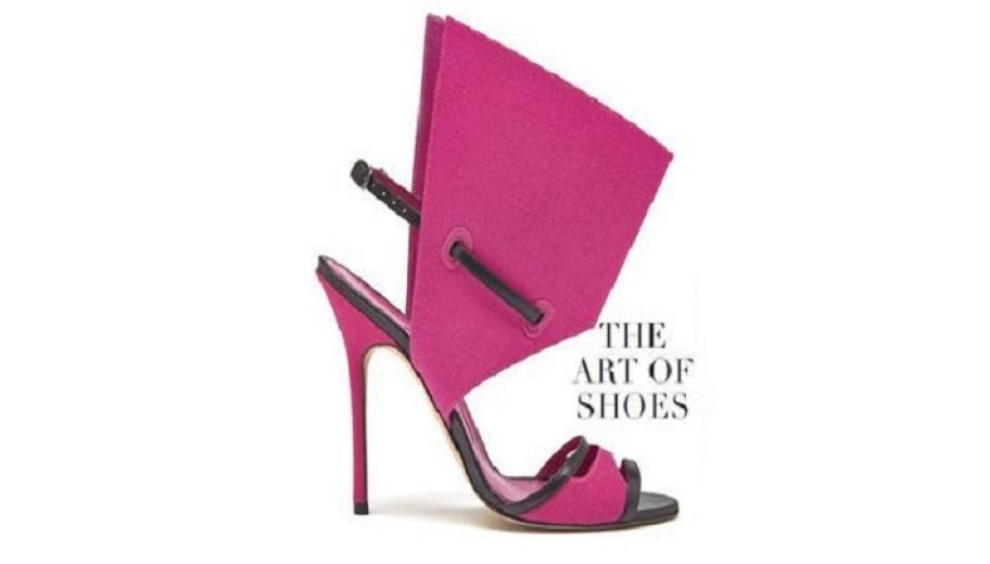 Los zapatos de Manolo Blahnik en el museo de Artes Figurativas