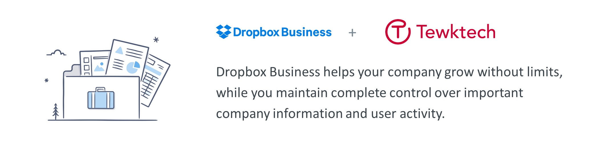 Dropbox Business from Tewktech Ltd