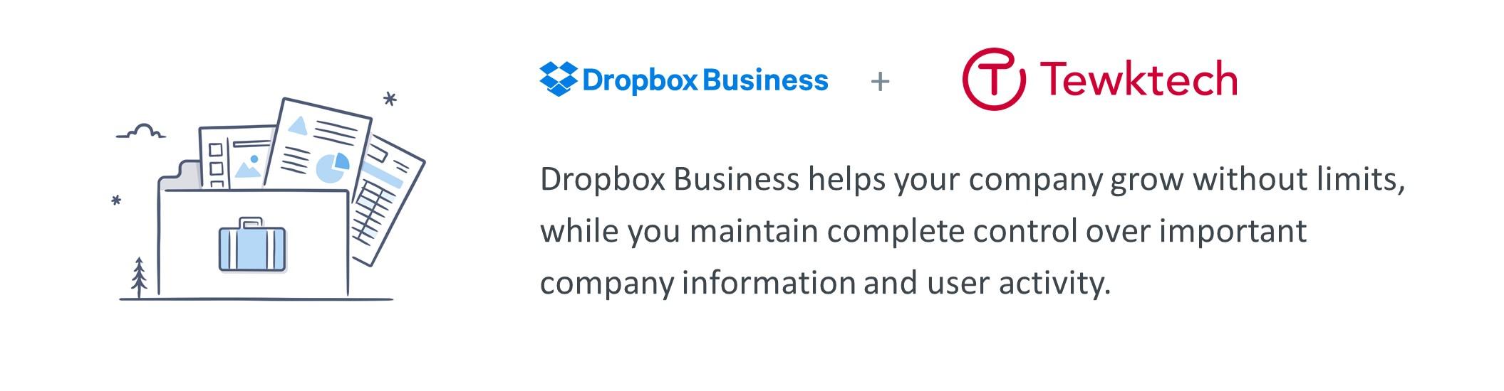 Dropbox Business from Tewktech Ltd
