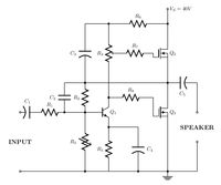 TikZ examples technical area: Electrical engineering