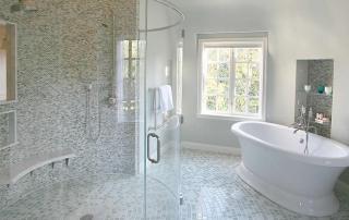 cleaning your Houston frameless glass shower door