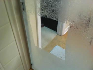 cleaning your Houston TX shower door glass