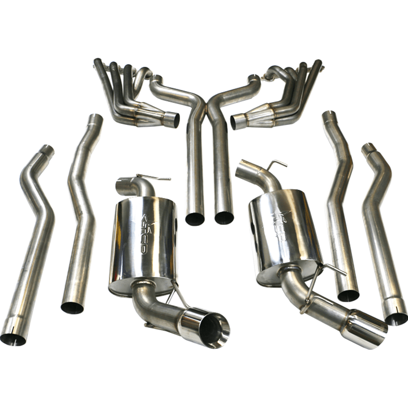 tsp 2010 camaro ss 304 stainless steel 2 00 long tube headers off road x pipe exhaust manifold gaskets w o2 ext