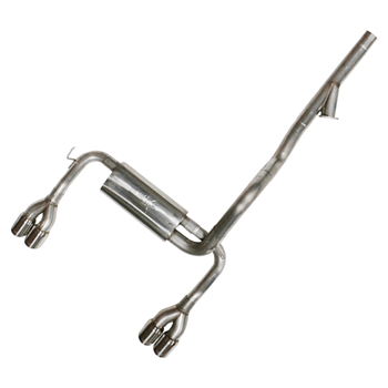 TSP 98-02 F-Body Cat-Back w/ Dual/Dual Tips and Cut Out