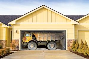 garage door cover creative