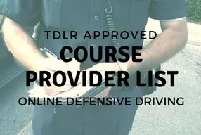 photo about Online Defensive Driving Course Texas With Printable Certificate identify Listing of TDLR/TEA Permitted On the web Defensive Behind Packages
