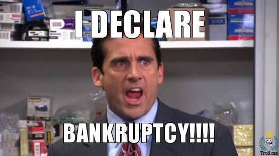 Bankruptcy Sucks!   It REALLY Sucks!   It sucks SO BAD!!!