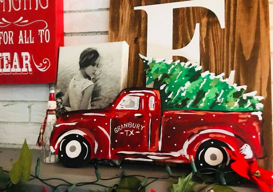 How to Paint Truck and Tree
