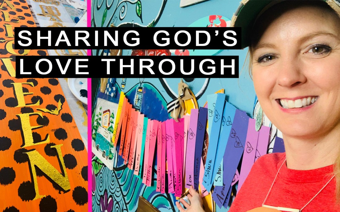 3 Ways to share Gods love through Paint Parties!