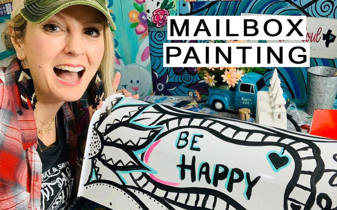 Let's paint a mailbox!!!