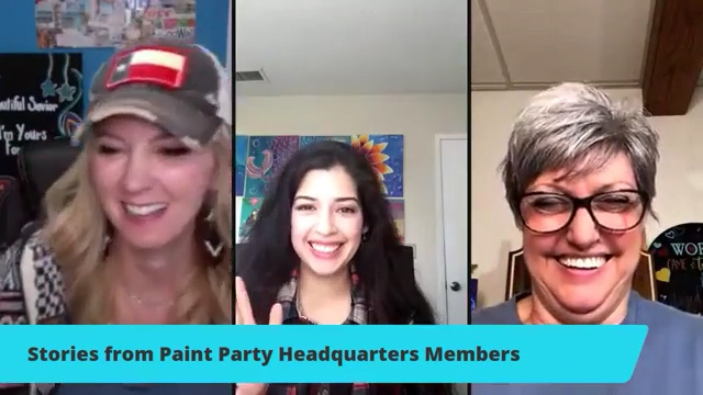 Stories from Paint Party Headquarters