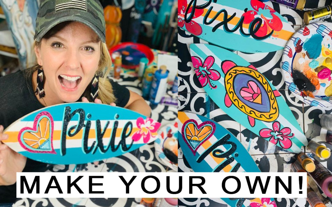CREATE A PERSONALIZED SURFBOARD
