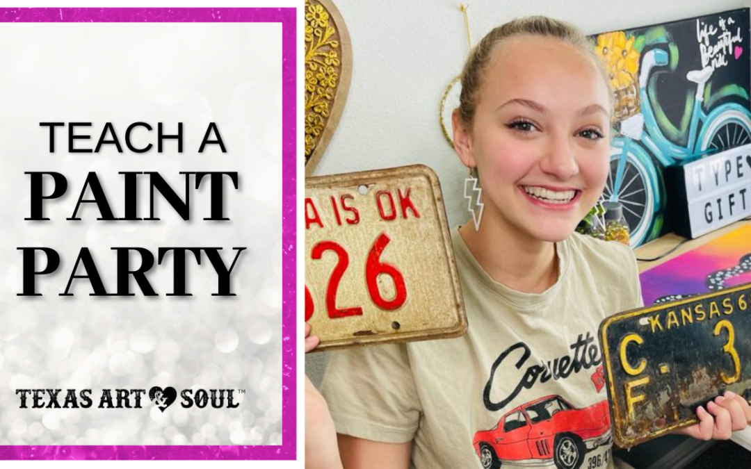 3 Tips when Teaching a Paint Party