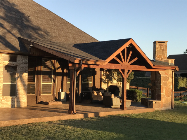patio cover pictures texas best fence