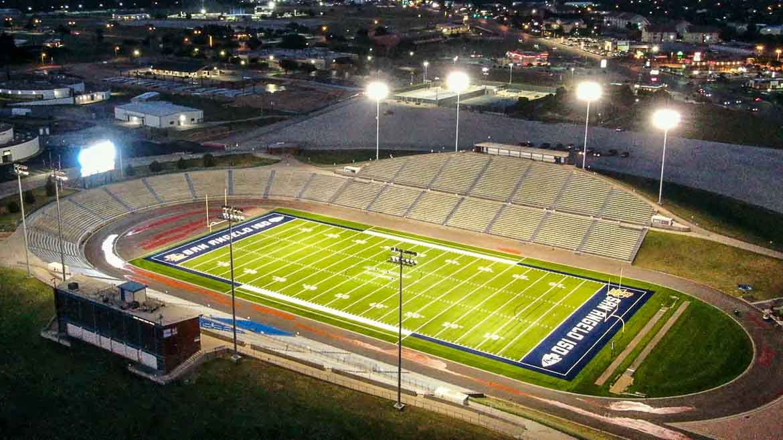 San School Stadium Football High Tx Angelo Central