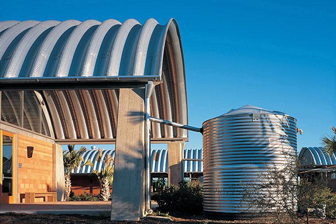 Lake Flato's World Birding Center Headquarters in Mission, Texas