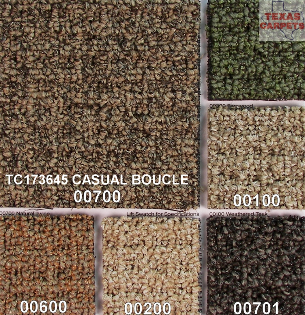 Casual Boucle  Shaw  Texas Carpets