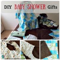 Easy DIY Baby Gift Ideas - Homemade Baby Shower Gift