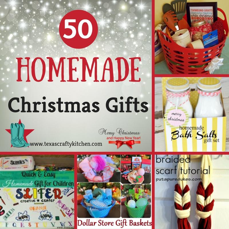 50 homemade christmas gifts