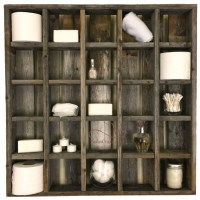 Buy Large Reclaimed Wood Wall 25 Cubby Hole Cubby Display