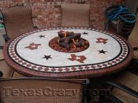 Buy Texas Patio Fire Tables and Chair Sets Outdoor Furniture