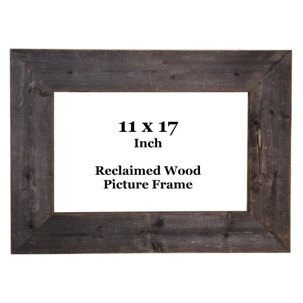 11 X 17 Reclaimed Wood Frame - Texas Crazy