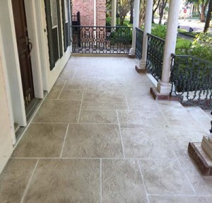 Houston Concrete Resurfacing After Image