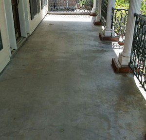 Houston Concrete Resurfacing Before Image