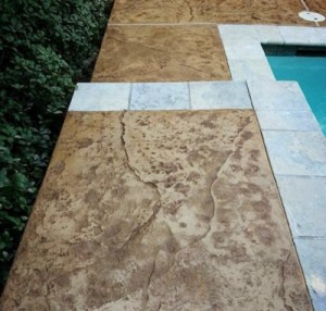 Pool Deck Concrete Resurfacing After Image
