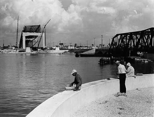 History of the corpus christi harbor bridge awesome for Corpus christi fishing spots