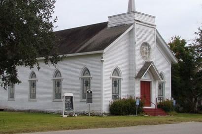 Boling United Methodist Church, Boling Texas