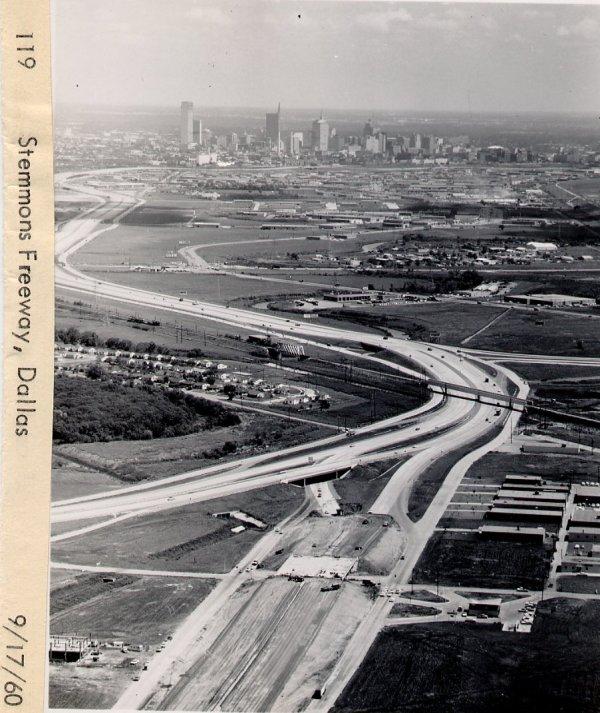 Construction I-35 Dallas Texas