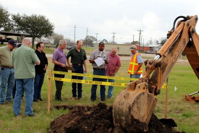 Interviewing excavator