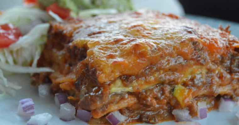 Tex-Mex Enchilada Casserole – Low Carb