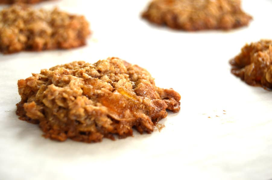 Mango Pecan Oatmeal Cookies