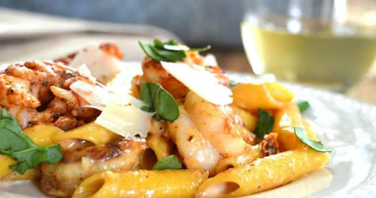 Crazy Cajun Shrimp Pasta