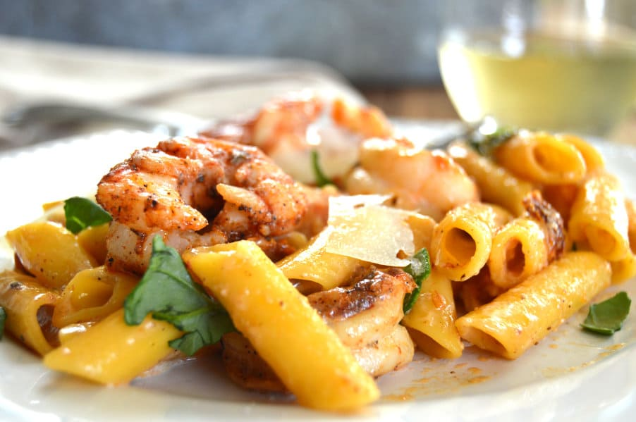 Crazy Cajun Shrimp Pasta is one of our go-to special occasion meals....gluten free, quick and easy, comforting, indulgent...crazy good!