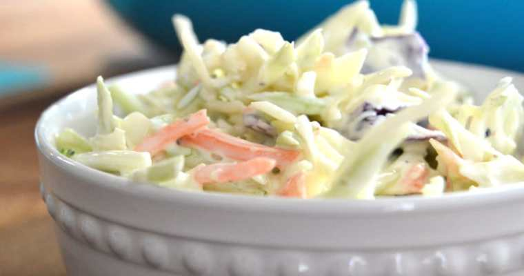 Classic Southern Coleslaw