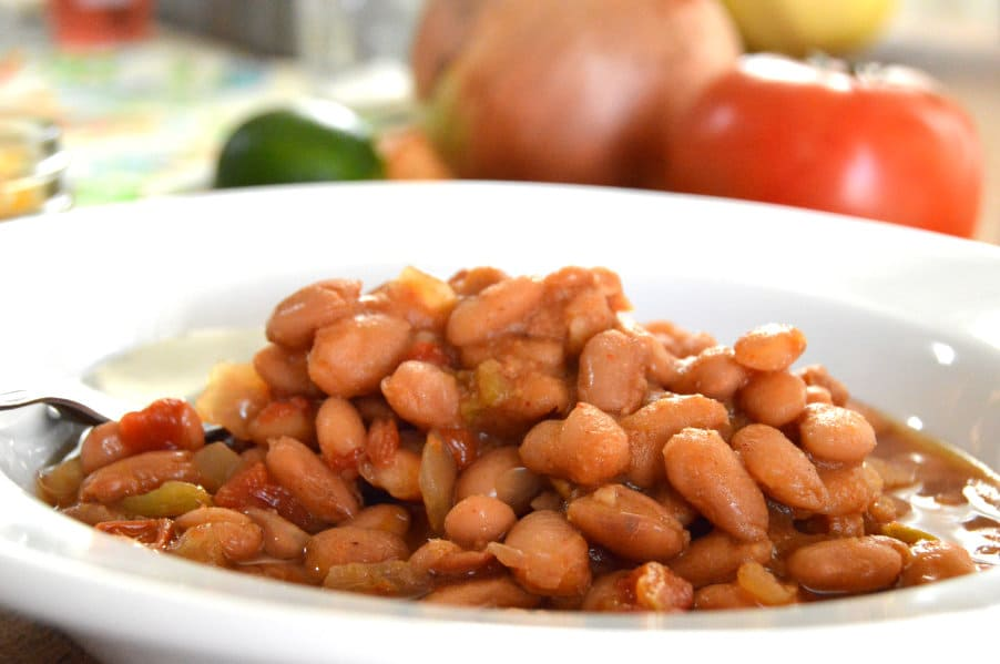 Slow Simmered Pinto Beans