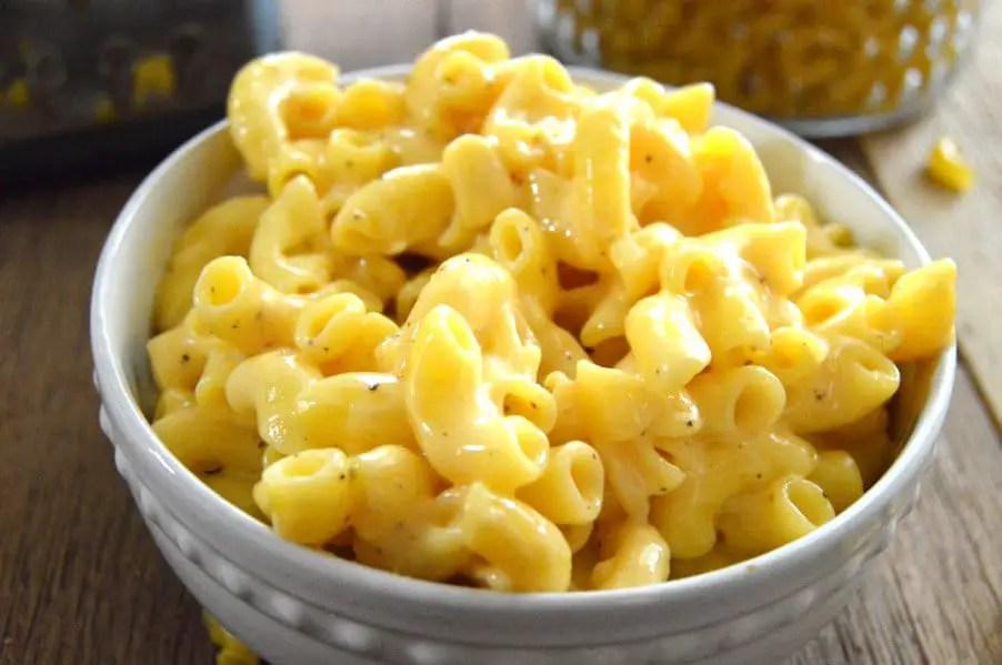 Creamy Gluten Free Stove Top Macaroni & Cheese