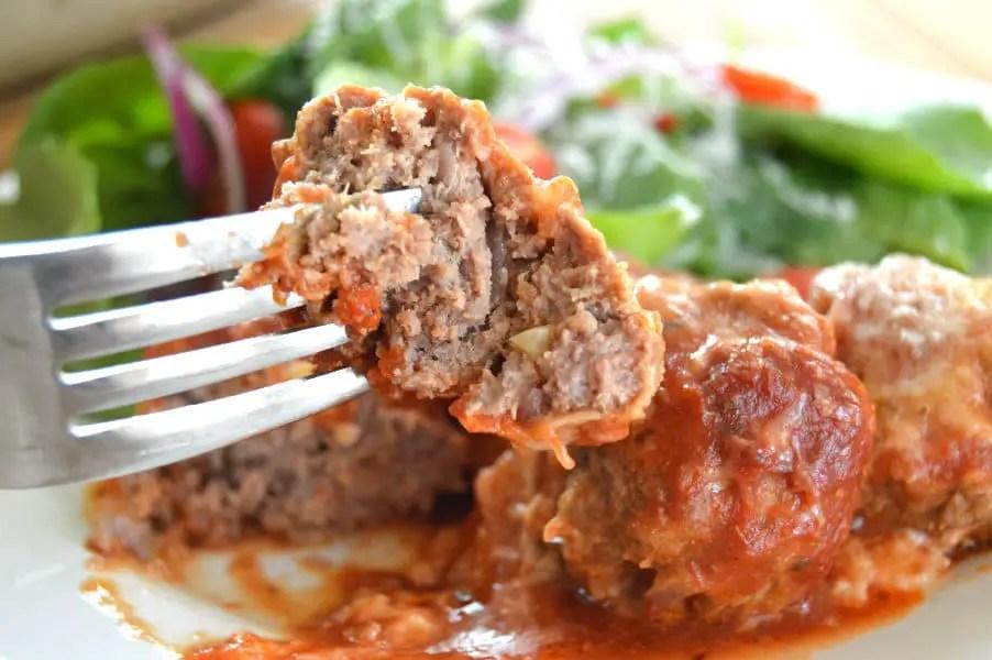 Italian Style Venison Meatballs - Gluten Free & Low Carb
