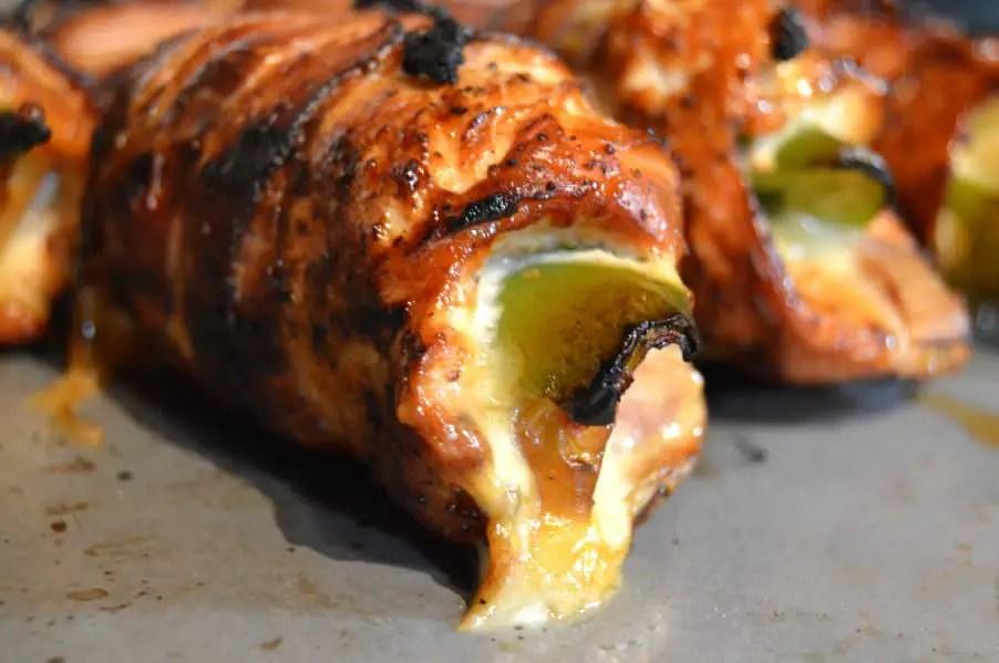 Bacon Wrapped Chicken Diablo