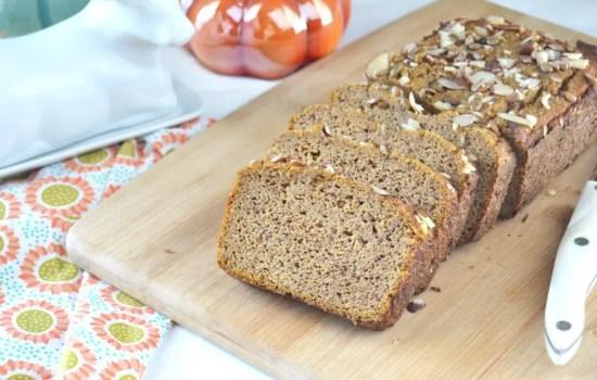 Chai Pumpkin Bread – Low Carb, GF, Keto